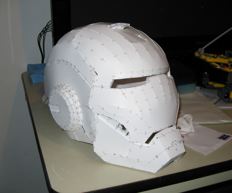 How To Make An Origami Darth Vader Helmet