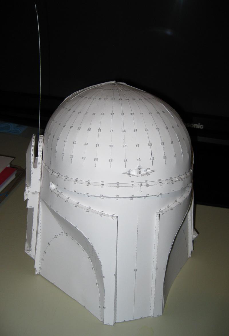 Boba Fett Papercraft Helmet by VitaminZinc
