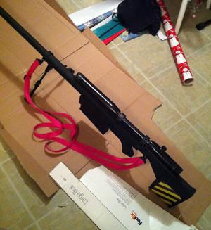 Gurren Lagann - Yoko Ritona Sniper Rifle 01