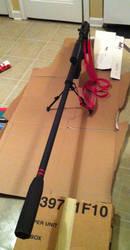 Gurren Lagann - Yoko Ritona Sniper Rifle 02 by VitaminZinc