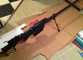 Gurren Lagann - Yoko Ritona Sniper Rifle 03