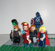 Lego Avengers Assemble~!