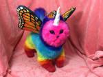 Rainbow Unicorn Butterfly Kitten 2.0