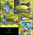 Lynx Fursona Plush