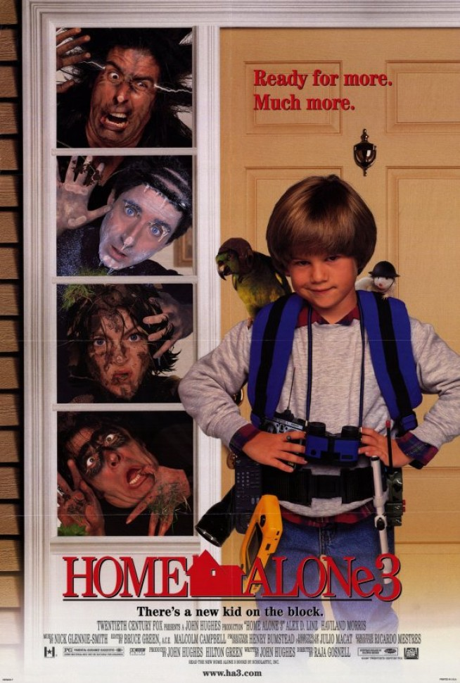 home alone 3 poster by leonrock84 on deviantart