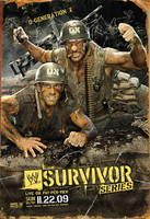 Wwe Survivor Series 2009 Poster by leonrock84