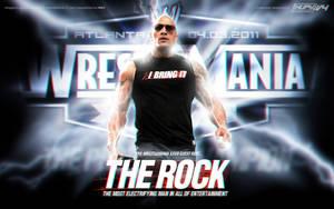 The Rock Wallpaper  by leonrock84