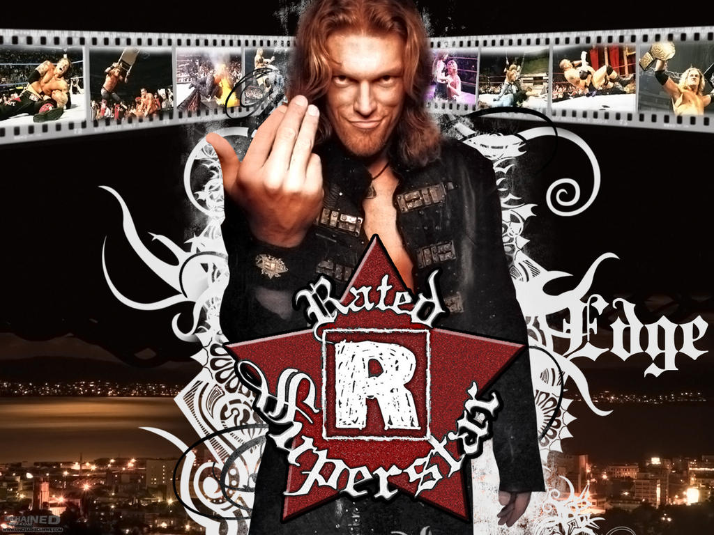 rated r superstar edge wallpaperleonrock84 on deviantart