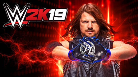 real WWE 2K19 cover by leonrock84