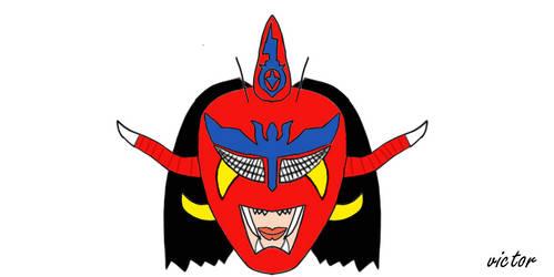 Jushin Thunder Liger Art  by leonrock84