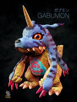 Realistic Digimon: Gabumon