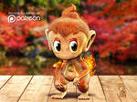 Chimchar Chinese New Year Greeting