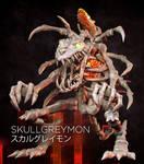 Realistic Digimon: Skullgreymon