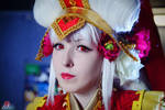 The Five Star Stories - Amaterasu portrait by LuciuS-Akechi