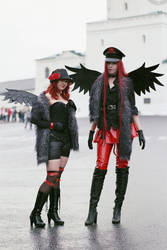 Angel Sanctuary - Astaroth and Belial by LuciuS-Akechi
