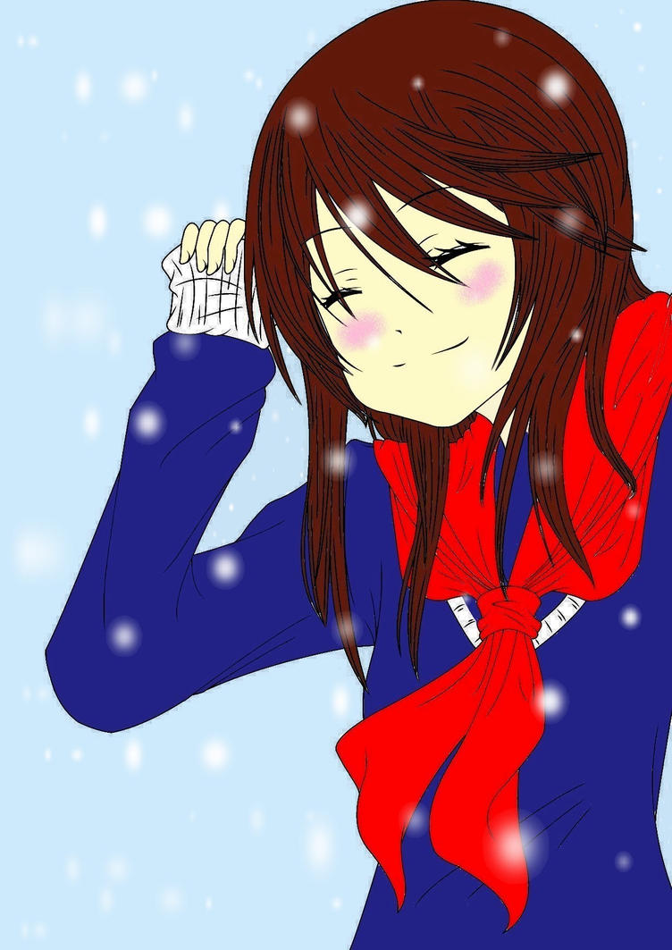 It's snowing YAY by what-mean-love