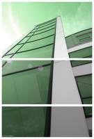 Skyscraper by MjuPhoto