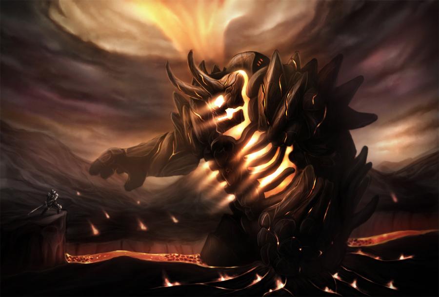 Fire Colossus by el-sharko
