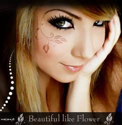 beautiful like Flower