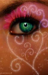 Flower Eye by mohaafterdark