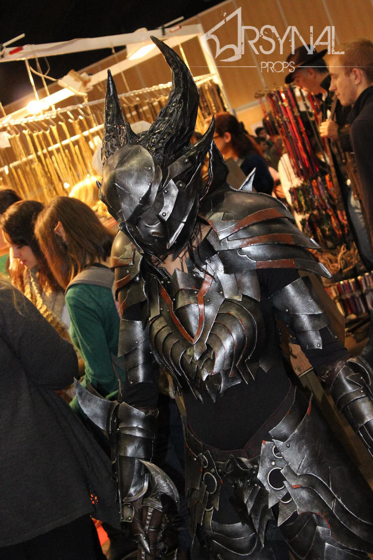 DAEDRIC ARMOR FROM TESO by ArsynalProps