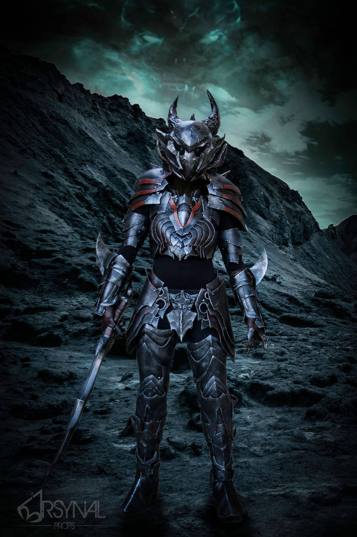 Daedric Armor From Elder Scrolls Online By Arsynalprops On Deviantart