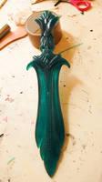 Glass dagger - Skyrim - First casting