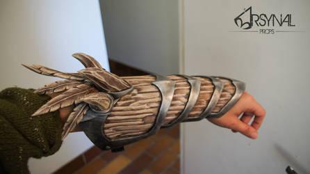 Bosmer wild hunt armor- wip- arm armor by ArsynalProps