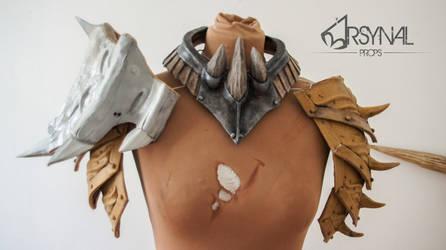 Wip - Bosmer wild hunt armor -Skyrim by ArsynalProps