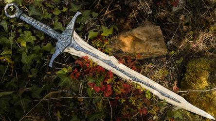 Dragonbone Sword - Skyrim by ArsynalProps