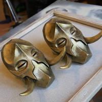 Konahrik mask miniature - Skyrim
