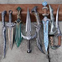 Skyrim Daggers - For sale