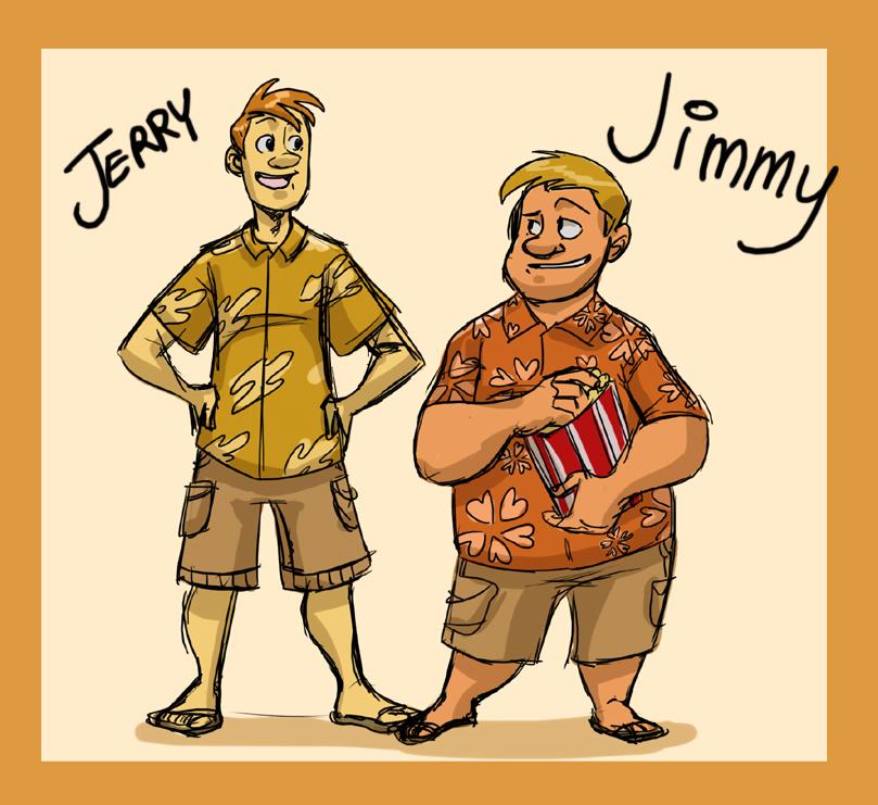 Vt Human Jimmy And Jerry By Crispy Gypsy On Deviantart