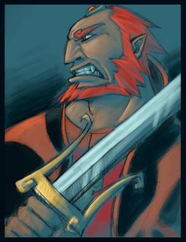 Ganondorf: Growl