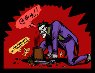 Joker: Smash by crumblygumbly
