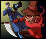 The Scarecrow and the Hatter