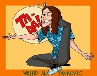 Weird Al: Ta-daaaa by crumblygumbly