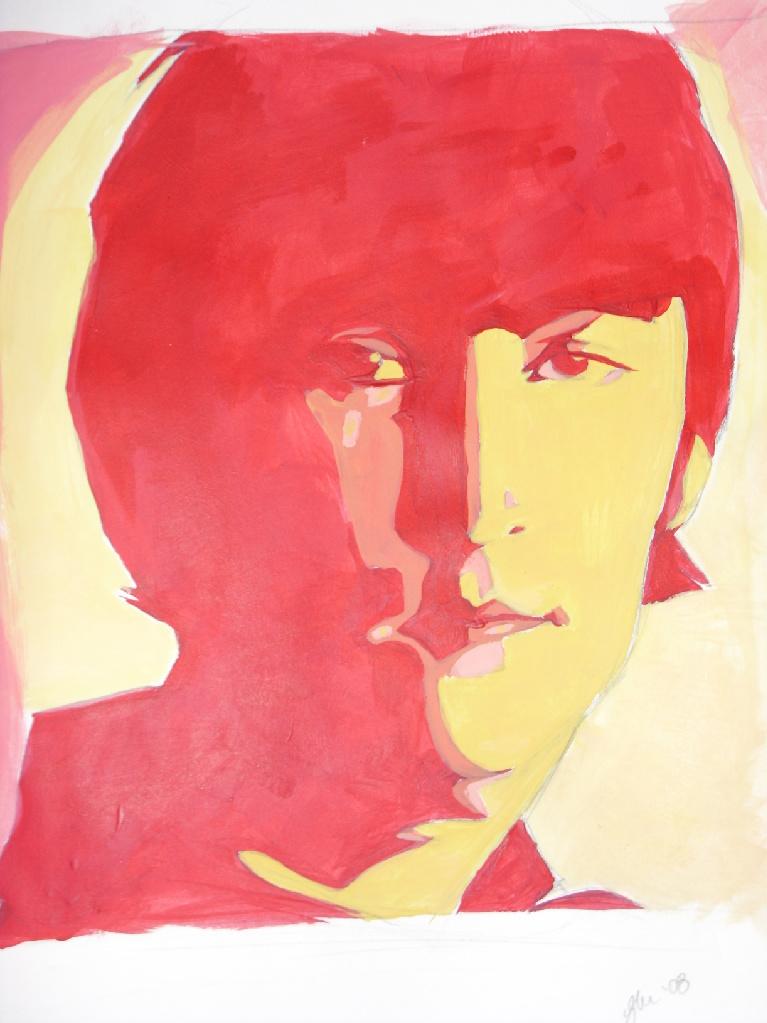 Fiery John Lennon by Crispy-Gypsy