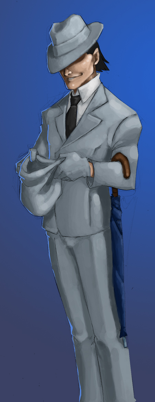 Yahtzee Character Design : Trilby the gentleman thief by crispy gypsy on deviantart