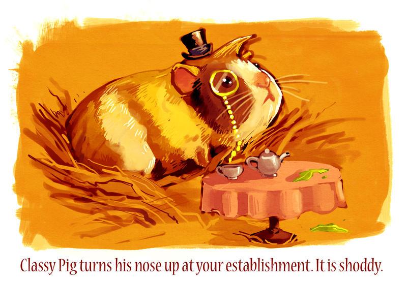 Classy Pig by Crispy-Gypsy