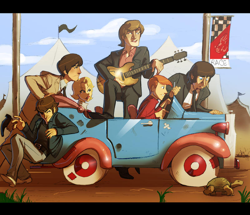 Baby, You Can Drive My Car By Crispy-Gypsy On DeviantArt