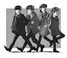 Beatlebook: Intro drawing by crumblygumbly
