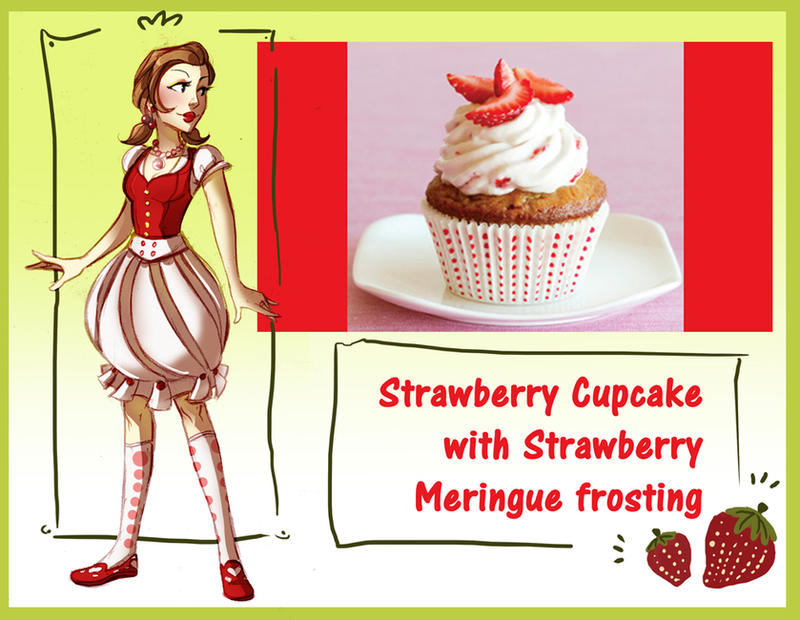 Desserts, Oh My: Strawberry by Crispy-Gypsy