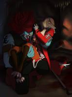 Freya,Amarant: Injury by crumblygumbly