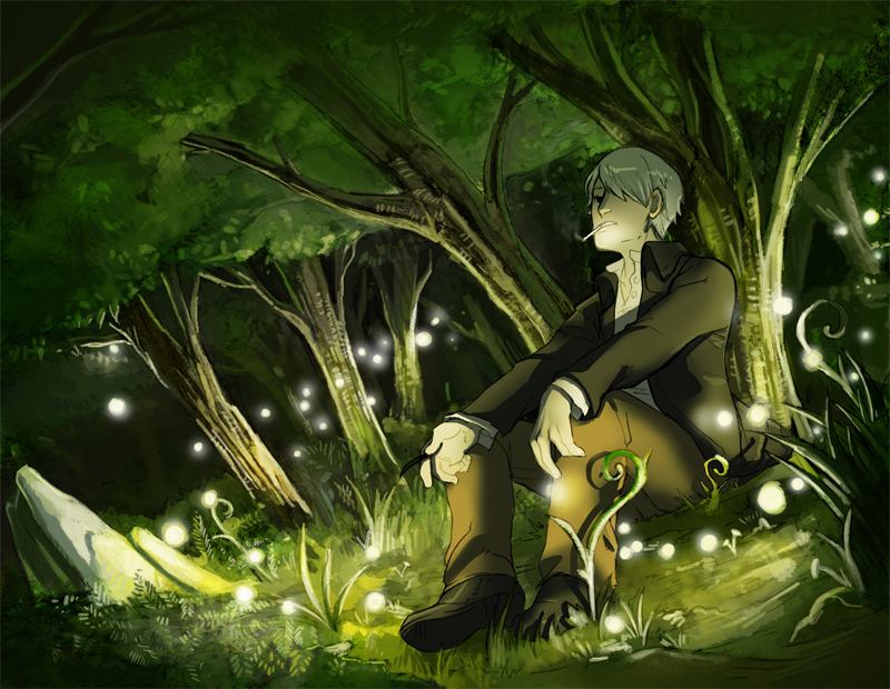 Mushishi by Crispy-Gypsy