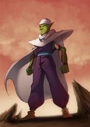 Piccolo by crumblygumbly