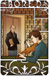 Sherlock: BORED by crumblygumbly