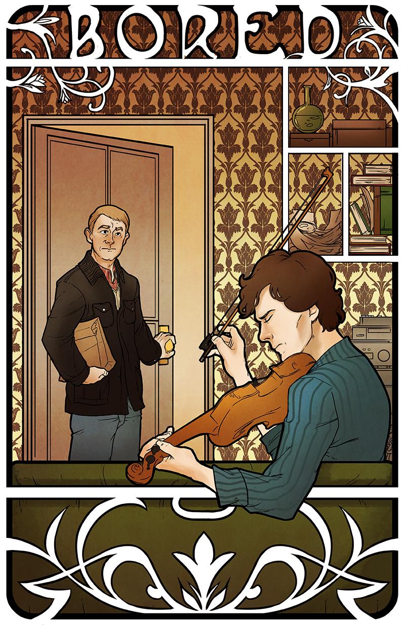 Sherlock: BORED by Crispy-Gypsy