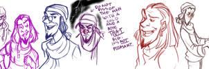 Sindey City: Clopin sketches