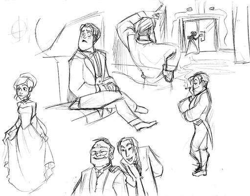 Synlet: Fic sketches 3
